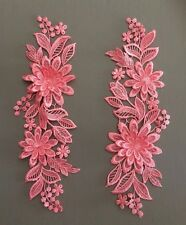 Watermelon~ 3D FLORAL VENISE LACE APPLIQUE SEWING EMBELLISHMENTS CRAFT