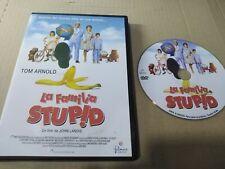 LA FAMILIA STUPID DVD TOM ARNOLD