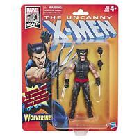 "Marvel Legends Wolverine Retro X-Men 6"" Action Figure Hasbro"