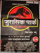 "JURASSIC PARK (1993) ORIGINAL MOVIE POSTER INDIA 27"" x 37"""