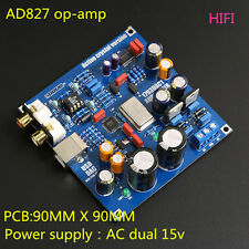 HIFI PCM2706 + PCM1793 + AD827 USB DAC Sound Card Kits For Audio HIFI DIY New