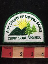 Indiana Patch Girls Scouts Of Singing Sands Camp Soni Springs 76WV