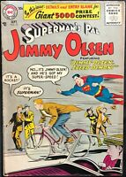 SUPERMAN'S PAL JIMMY OLSEN #15 (DC,1956) EARLY SILVER AGE!!! ~