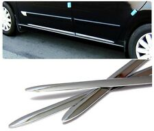 Door Chrome Side Molding Trim Garnish Sill For TOYOTA Tundra, Venza, Yaris