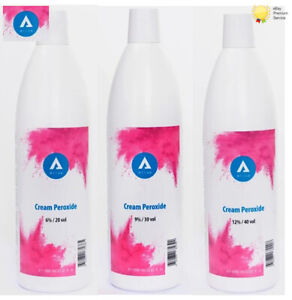 Aliza Cream Peroxide Developer Oxydant 1000ml 20, 30, 40 Volume
