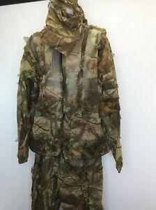 Realtree RedHead Camo Hunting Leaf Net Suit 2XL 3XL Hardwoods Jacket Pants