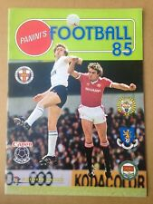 PANINI FOOTBALL 1985 Sticker Album. Empty