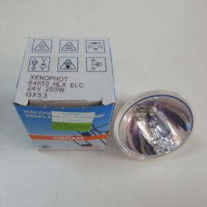 XENOPHOT 64653 ELC 24V250W Endoscope Bulb OSRAM Halogen Tungsten Lamp GX5.3 Bulb