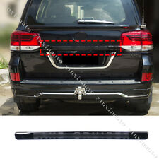 Black Rear Trunk Tailgate Molding Trim Strip For Toyota Land Cruiser 200 2016-19