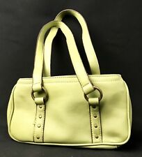 nine west purses... 1 white & 1 green. Used bags with wear & some discoloration