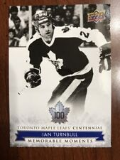 2017 Ud Toronto Maple Leafs Centennial Collection #183 Ian Turnbull