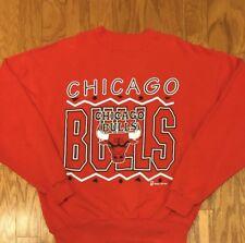 Good Condition Vintage Team Hanes Chicago Bulls Crewneck Sweatshirt sz 2XL