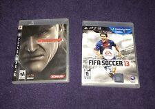 Metal Gear Solid 4 Guns of the Patriots FIFA Soccer 13 EA Sports PS3 Video Games