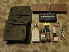 M2 Jungle FirstAid Kit ATABRINE USMC Para Marine Raider Army Medic Navy Corpsman