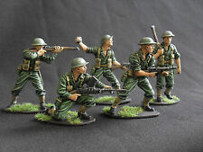airfix conversions 1/32 professionally painted Australian infantry 54mm.