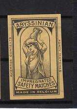 Ancienne étiquette   allumettes  Belgique  A550  Femme Porteuse d'eau 4
