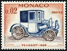 "MONACO N° 558 ""AUTOMOBILE, PEUGEOT 2 C"" NEUF xx TTB"
