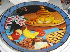 "Danbury Mint Garfield "" And now For Dessert "" 1978 Collectors Plate #A2891"