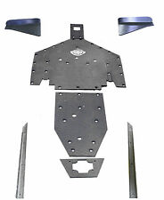 Polaris RZR XP 1000 UHMW skid plate arm guards SSS Off Road FULL