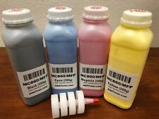 (200g x 4) Toner Refill for OKI Okidata MC860, MC860 MFP - NO Chips !!!