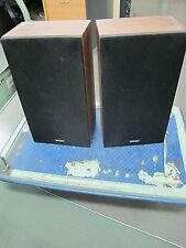 SHARP Stereo Speakers MODEL : CP-170XB 15watt 4Ohms 16cm Classic OLD SCHOOL