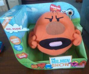 Mr Men & Little MissPlush Talking Toys -   Mr Rude
