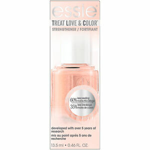 essie treat love & color nail polish & strengthener tonal taupe (shimmer finish)