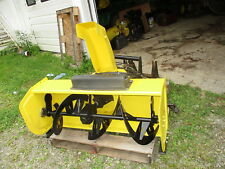 JOHN DEERE MODEL 47 2-STAGE SNOWBLOWER FITS 425 445 455 WITH HITCH & DRIVESHAFTS