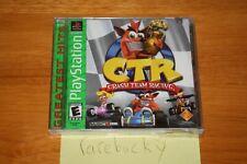 CTR: Crash Team Racing GH (PS1 PSX Playstation) NEW SEALED Y-FOLD W/UPC!