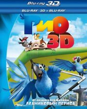Rio (Blu-ray 3D+2D, 2011) Eng,Russian,Latvian,Lithuanian,Estonian,Hindi,Ukranian
