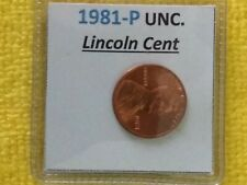 1981 - P Lincoln CENT + FREE GIFT with your 1 Uncirculated 1981 Lincoln Penny.