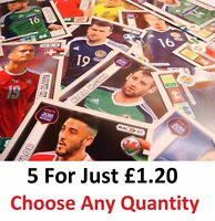 5 FOR £1.20 Panini Adrenalyn XL Road To 2018 World Cup Russia Team Mate CARDS