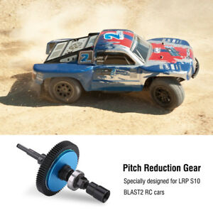 CNC Aluminum Alloy Metal 77T 48 Pitch RC Car Main Gear For LRP S10 BLAST2 RC Car
