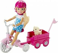 Barbie Her Sisters In The Great Puppy Adventure Chelsea Doll And Trike