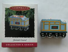+Hallmark Christmas Ornament Yuletide Central #2 Tender Train 1995 Collectible!