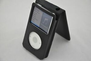 Black New PU Leather Case Cover Pouch For Apple iPod Classic 7th Gen 160GB THIN