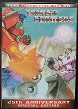 Transformers G1 More than Meets the Eye 25th Anniversary Special Edition DVD