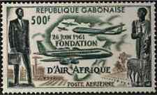 Timbre Aviation Gabon PA5 ** lot 21909