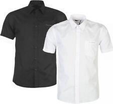 ✔ PIERRE CARDIN kurzarm Herren Hemd Stehkragen Freizeithemd Short Shirt Hemden