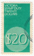 (I.B) Australia - Victoria Revenue : Stamp Duty $20