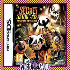 DS Secret Saturdays Beasts 5th Sun - Nintendo Console Game 3ds DSi 2ds Very Good