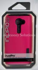 Incipio LG G2 VS980 Verizon Only Dualpro Hard Shell Case Cover Pink / Gray