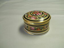 Wedgwood Clio trinket round lidded box