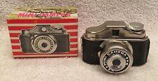 Vintage 1960's Mini Arrow Spy Camera w/ Box Hong Kong Old Store Stock