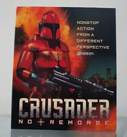 Crusader No Remorse PC 1995 Computer Video Game CD ROM Big Box with Inserts