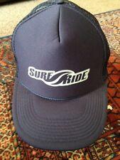 Surf Ride Baseball Cap Hat Snapback  100% Nylon Blue GXN