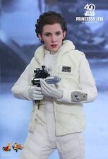 PRINCESS LEIA Star Wars Empire Strikes Back Hot Toys 1/6 Figure (Carrie Fisher)