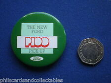 The new Ford P100 Pick-Up    pin badge    1980s