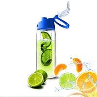 New Portable Fruit Infusing Infuser Water Lemon Juice Health Bottle Flip Lid Cup