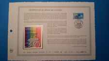 FRANCE DOCUMENT ARTISTIQUE YVERT 2590 CHAMPIONNAT MONDE VELO 1989  L587